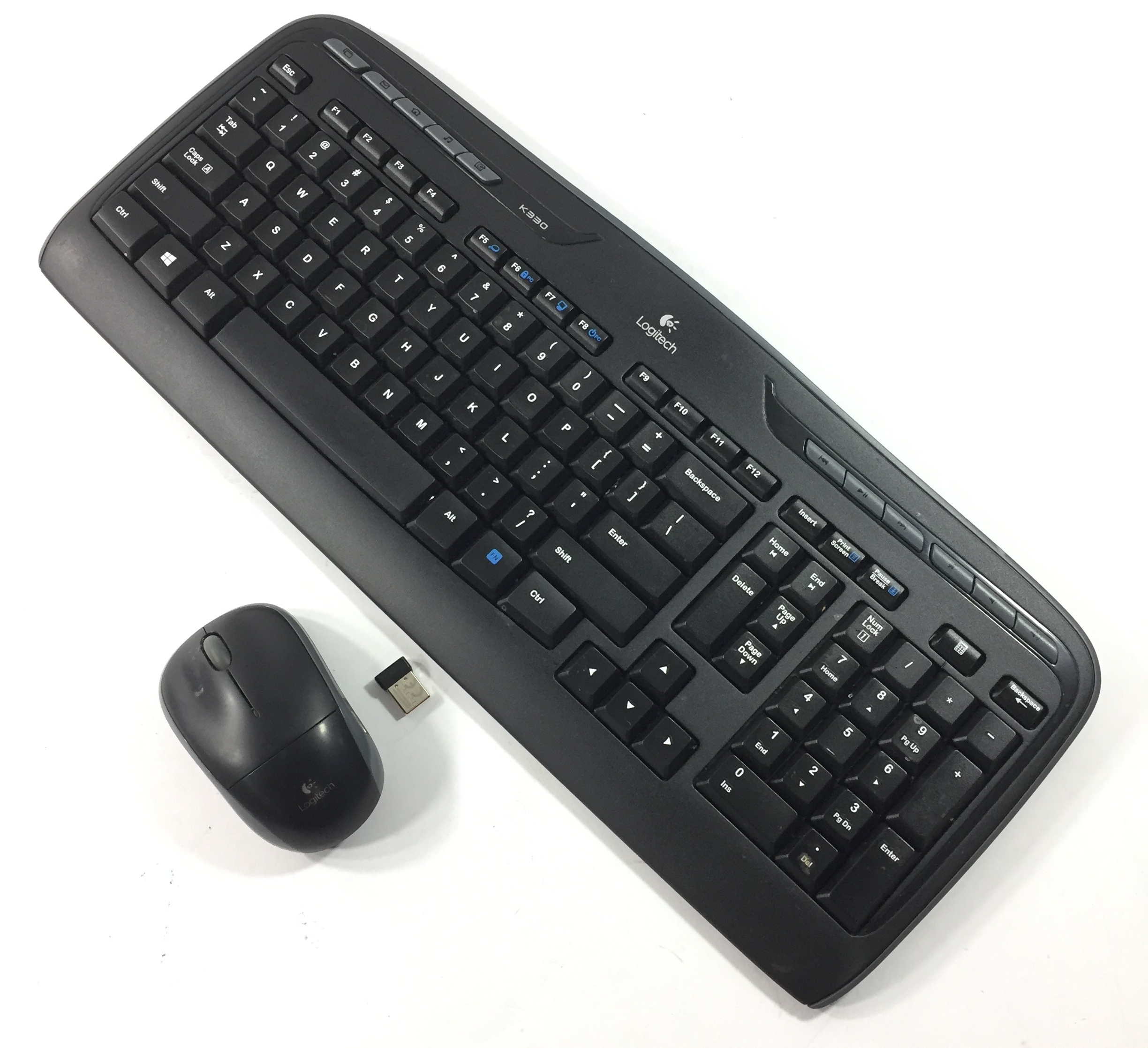 f1ef24b8af5 Logitech Wireless K330 Keyboard & M215 Mouse | Roseburg Help Desk